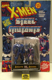 (TAS010762) - Toy Biz Marvel Die-Cast X-Men Steel Mutants Figures - Apocalypse, , Action Figure, X-Men, The Angry Spider Vintage Toys & Collectibles Store  - 1