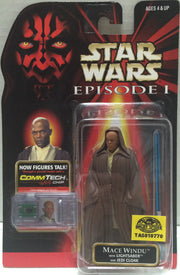(TAS010770) - 1998 Hasbro Star Wars Episode 1 - Mace Windu, , Action Figure, Star Wars, The Angry Spider Vintage Toys & Collectibles Store  - 1