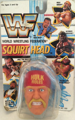 (TAS012306) - 1990 WWF TitanSports Wrestling Squirt Head - Hulk Hogan, , Squirt Head, Titan Sports, Inc., The Angry Spider Vintage Toys & Collectibles Store  - 1