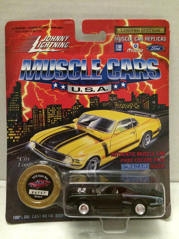 (TAS012307) - Johnny Lightning 1970 Super Bee Muscle Car Replica Series 9, , Trucks & Cars, Johnny Lightning, The Angry Spider Vintage Toys & Collectibles Store  - 1