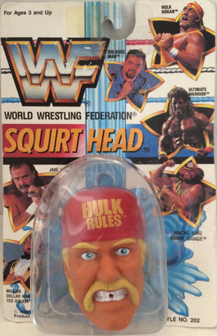 (TAS012308) - 1990 WWF TitanSports Wrestling Squirt Head - Hulk Hogan, , Squirt Head, Titan Sports, Inc., The Angry Spider Vintage Toys & Collectibles Store  - 1