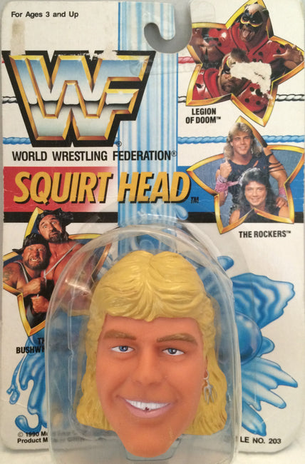 (TAS012309) - 1990 WWF TitanSports Wrestling Squirt Head - Shawn Michaels, , Squird Head, Titan Sports, Inc., The Angry Spider Vintage Toys & Collectibles Store  - 1