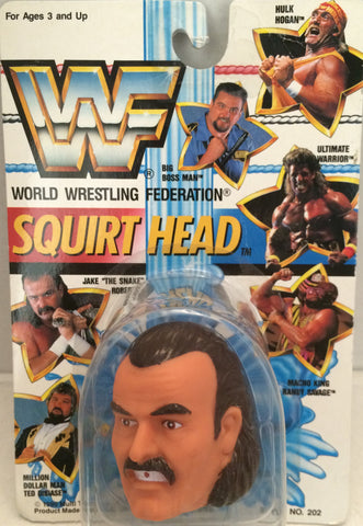 "(TAS012347) - 1990 WWF TitanSports Wrestling Squirt Head - Jake ""The Snake"", , Squirt Head, Titan Sports, Inc., The Angry Spider Vintage Toys & Collectibles Store  - 1"