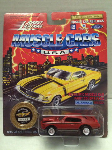(TAS012366) - Johnny Lightning 1969 GTO Judge Muscle Car Replica Series 11, , Trucks & Cars, Johnny Lightning, The Angry Spider Vintage Toys & Collectibles Store  - 1