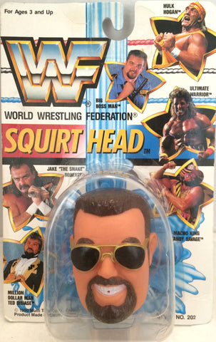 (TAS012381) - 1990 WWF TitanSports Wrestling Squirt Head - Big Boss Man, , Squirt Head, Titan Sports, Inc., The Angry Spider Vintage Toys & Collectibles Store  - 1