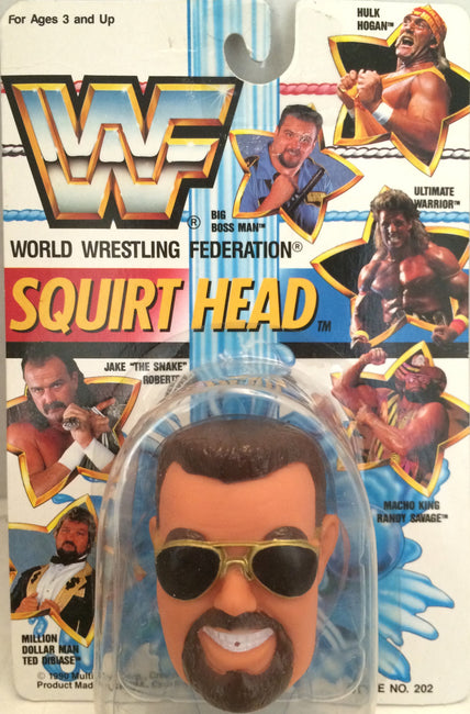 (TAS012383) - 1990 WWF TitanSports Wrestling Squirt Head - Big Boss Man, , Squirt Head, Titan Sports, Inc., The Angry Spider Vintage Toys & Collectibles Store  - 1