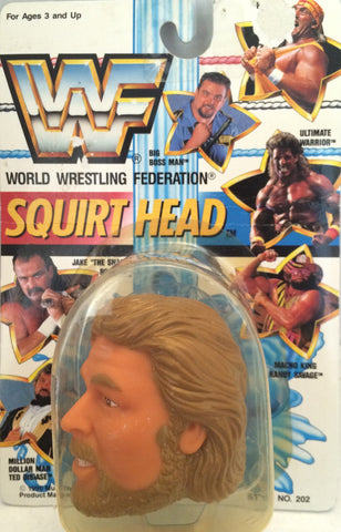 (TAS012384) - 1990 WWF TitanSports Wrestling Squirt Head - Ted Dibiase, , Squirt Head, Titan Sports, Inc., The Angry Spider Vintage Toys & Collectibles Store  - 1