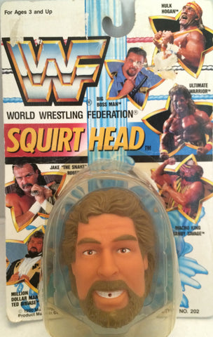 (TAS012389) - 1990 WWF TitanSports Wrestling Squirt Head - Ted Dibiase, , Squirt Head, Titan Sports, Inc., The Angry Spider Vintage Toys & Collectibles Store  - 1