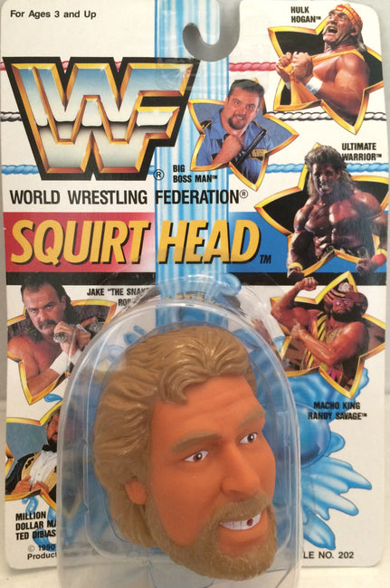 (TAS012391) - 1990 WWF TitanSports Wrestling Squirt Head - Ted Dibiase, , Squirt Head, Titan Sports, Inc., The Angry Spider Vintage Toys & Collectibles Store  - 1