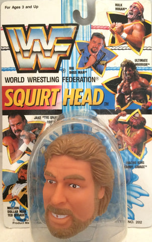 (TAS012392) - 1990 WWF TitanSports Wrestling Squirt Head - Ted Dibiase, , Squirt Head, Titan Sports, Inc., The Angry Spider Vintage Toys & Collectibles Store  - 1