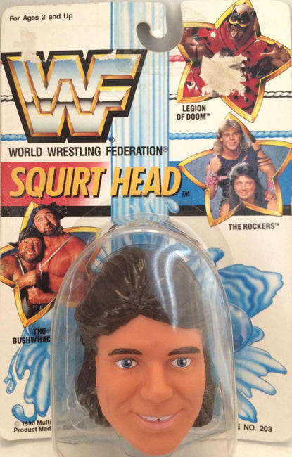(TAS012393) - 1990 WWF TitanSports Wrestling Squirt Head - Marty Janetty, , Squirt Head, Titan Sports, Inc., The Angry Spider Vintage Toys & Collectibles Store  - 1
