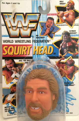 (TAS012395) - 1990 WWF TitanSports Wrestling Squirt Head - Ted Dibiase, , Squirt Head, Titan Sports, Inc., The Angry Spider Vintage Toys & Collectibles Store  - 1