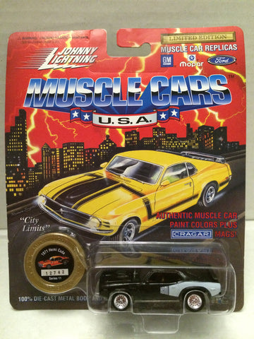 (TAS012396) - Johnny Lightning 1971 Hemi Cuda Muscle Car Replica Series 11, , Trucks & Cars, Johnny Lightning, The Angry Spider Vintage Toys & Collectibles Store  - 1