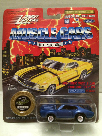(TAS012397) - Johnny Lightning 1969 Olds 442 Muscle Car Replica Series 11, , Trucks & Cars, Johnny Lightning, The Angry Spider Vintage Toys & Collectibles Store  - 1