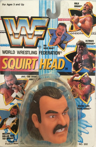 "(TAS012403) - 1990 WWF TitanSports Wrestling Squirt Head - Jake ""The Snake"", , Squirt Head, Titan Sports, Inc., The Angry Spider Vintage Toys & Collectibles Store  - 1"