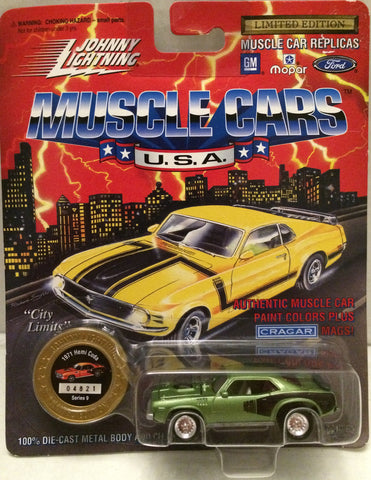 (TAS012404) - Johnny Lightning 1971 Hemi Cuda Muscle Car Replica Series 9, , Trucks & Cars, Johnny Lightning, The Angry Spider Vintage Toys & Collectibles Store  - 1