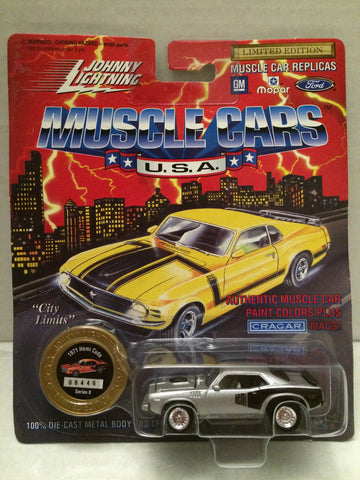 (TAS012514) - Johnny Lightning 1971 Hemi Cuda Muscle Car Replica Series 8, , Trucks & Cars, Johnny Lightning, The Angry Spider Vintage Toys & Collectibles Store  - 1