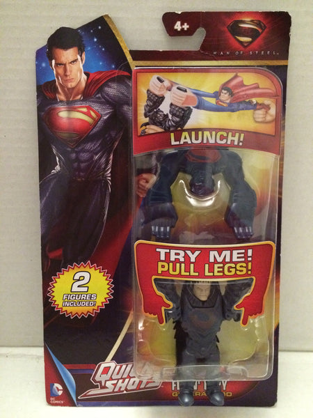 (TAS012532) - Superman Man of Steel Quick Shots - General Zod, , Action Figure, Mattel, The Angry Spider Vintage Toys & Collectibles Store  - 1