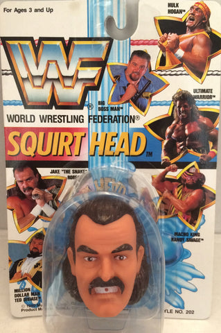 "(TAS012555) - 1990 WWF TitanSports Wrestling Squirt Head - Jake ""The Snake"", , Squirt Head, Titan Sports, Inc., The Angry Spider Vintage Toys & Collectibles Store  - 1"
