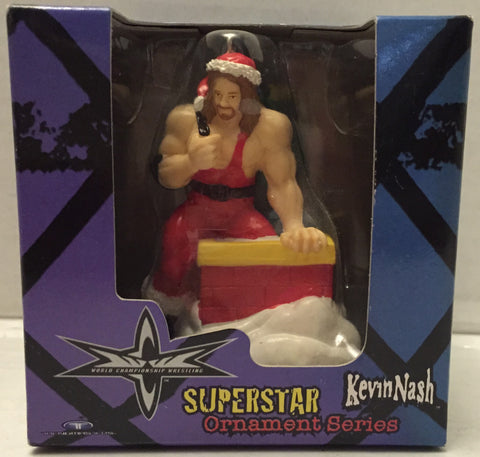 (TAS012686) - 1999 Trendmasters WCW Wrestling Holiday Ornament - Kevin Nash, , Ornament, NFL, The Angry Spider Vintage Toys & Collectibles Store  - 1