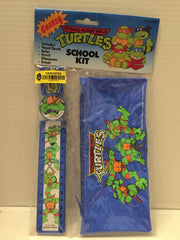 (TAS012722) - 1991 Mirage Studios Teenage Mutant Ninja Turtles School Kit, , Study Kit, TMNT, The Angry Spider Vintage Toys & Collectibles Store  - 2