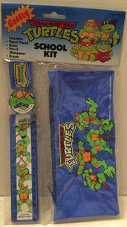 (TAS012722) - 1991 Mirage Studios Teenage Mutant Ninja Turtles School Kit, , Study Kit, TMNT, The Angry Spider Vintage Toys & Collectibles Store  - 1