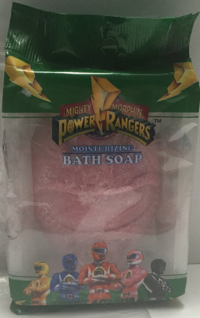 (TAS012782) - Bandai Mighty Morphin Power Rangers - Moisturizing Bath Soap, , Bath, Power Rangers, The Angry Spider Vintage Toys & Collectibles Store  - 1