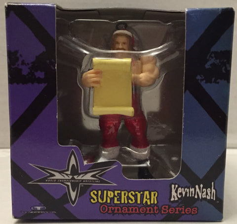 (TAS012831) - 1999 Trendmasters WCW Wrestling Holiday Ornament - Kevin Nash, , Ornament, Wrestling, The Angry Spider Vintage Toys & Collectibles Store  - 1