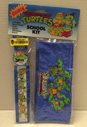 (TAS012851) - 1991 Mirage Studios Teenage Mutant Ninja Turtles School Kit, , Study Kit, TMNT, The Angry Spider Vintage Toys & Collectibles Store  - 3