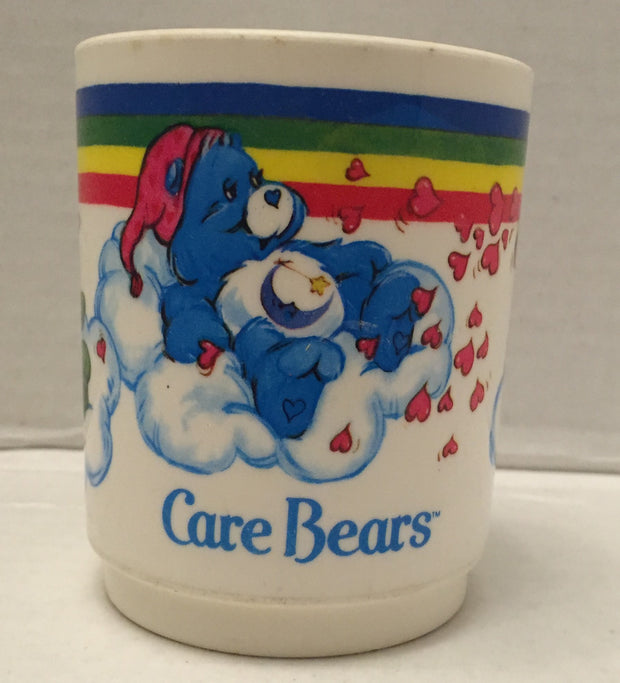 (TAS012875) - 1983 American Greetings Corp Care Bears Plastic Drinking Cup, , Drinkware, Care Bears, The Angry Spider Vintage Toys & Collectibles Store  - 1