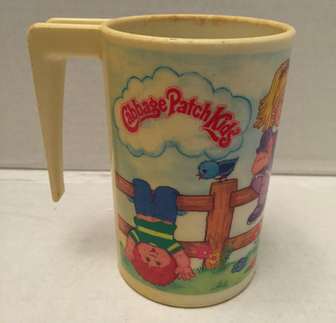 (TAS012906) - 1984 OAA Inc Cabbage Patch Kids Plastic Drinking Cup, , Drinkware, Cabbage Patch, The Angry Spider Vintage Toys & Collectibles Store  - 1