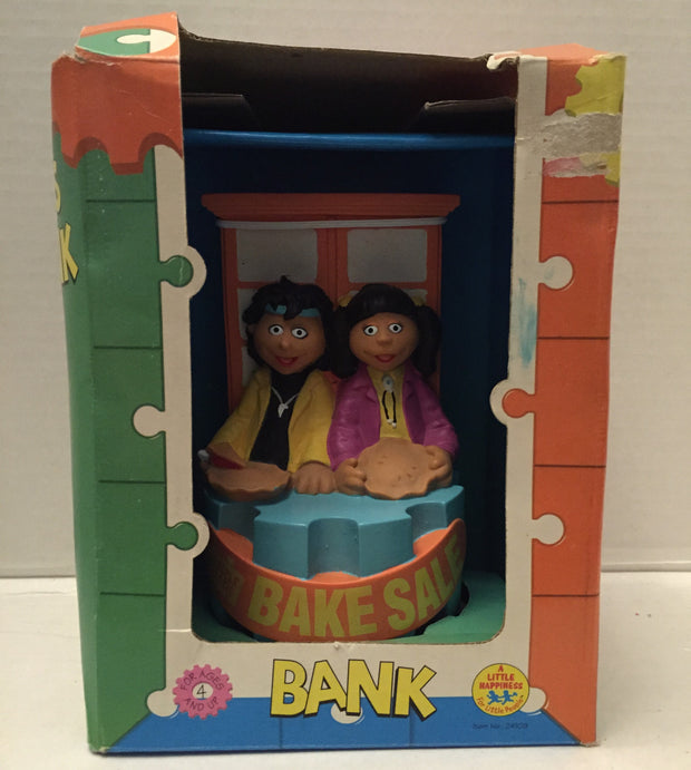 (TAS012911) - 1995 The Puzzle Place KiKi 'N' Skye's Coin Bank, , Coin Bank, n/a, The Angry Spider Vintage Toys & Collectibles Store  - 1