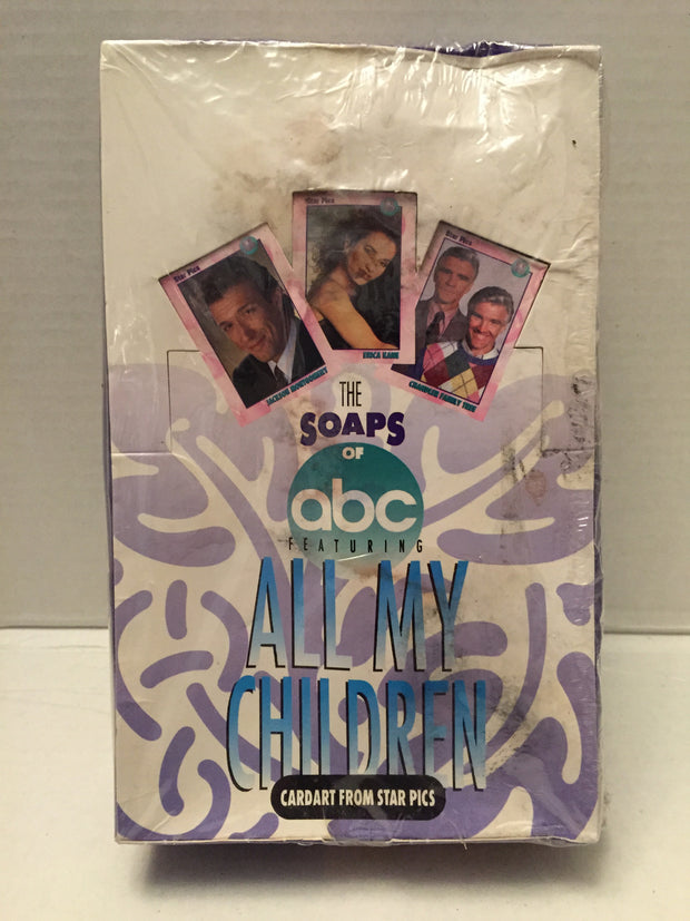 (TAS012974) - 1991 Star Pics The Soaps of ABC Featuring All My Children Cards, , Trading Cards, n/a, The Angry Spider Vintage Toys & Collectibles Store  - 1