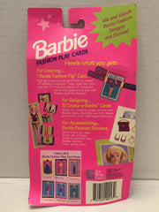 (TAS013063) - 1993 The River Group Barbie Fashion Play Cards - Floral Fancy, , Game, Barbie, The Angry Spider Vintage Toys & Collectibles Store  - 3