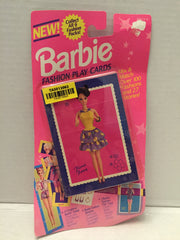 (TAS013063) - 1993 The River Group Barbie Fashion Play Cards - Floral Fancy, , Game, Barbie, The Angry Spider Vintage Toys & Collectibles Store  - 2