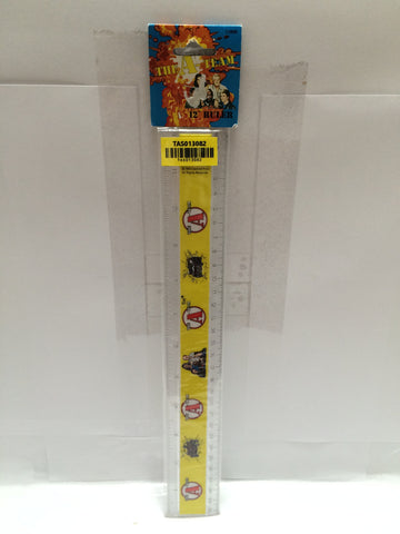 "(TAS013082) - The A-Team 12"" Ruler, , Ruler, Tamar Ent., The Angry Spider Vintage Toys & Collectibles Store  - 1"