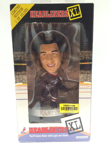 (TAS013106) - NHLPA Headliners XL 1998 Premier- Kariya, , Bobble Head, NHLPA, The Angry Spider Vintage Toys & Collectibles Store  - 1