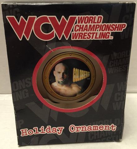 (TAS013268) - WCW WWE WWF Wrestling Holiday Christmas Ornament - Goldberg, , Ornament, Wrestling, The Angry Spider Vintage Toys & Collectibles Store  - 1