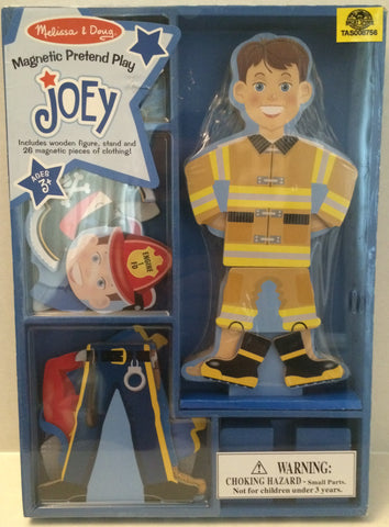 (TAS013273) - Melissa & Doug Magnetic Pretend Play Joey Set, , Magnet, Melissa and Doug, The Angry Spider Vintage Toys & Collectibles Store  - 1