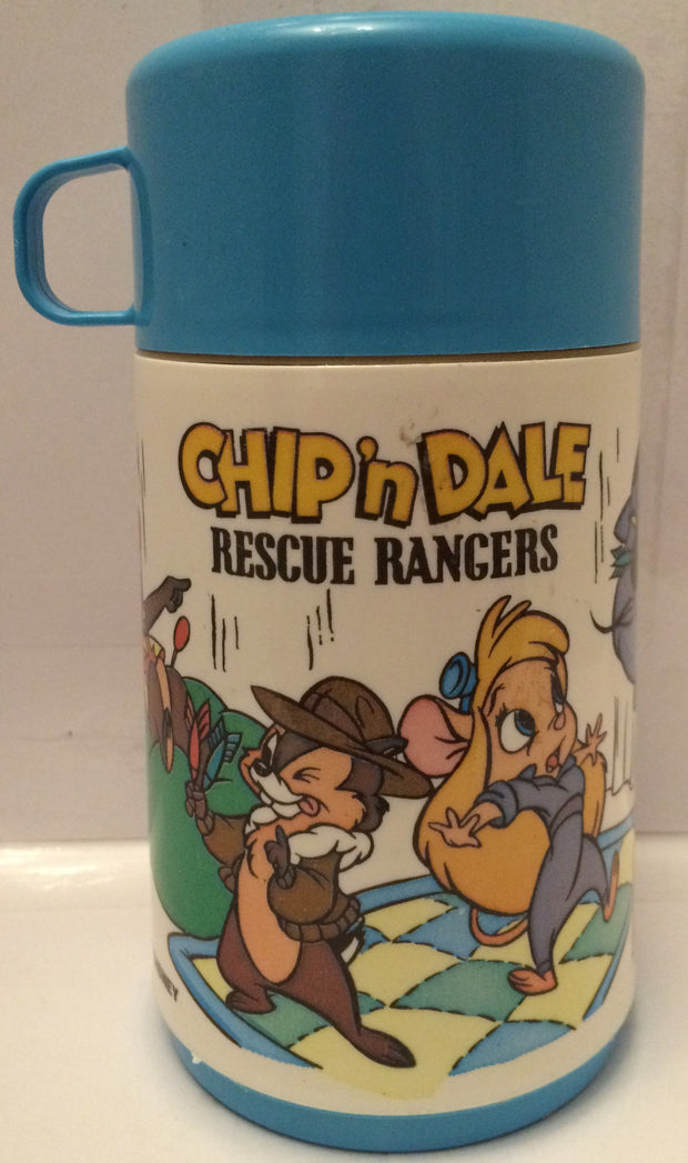 tas013384 disney aladdin chip n dale rescue rangers thermos