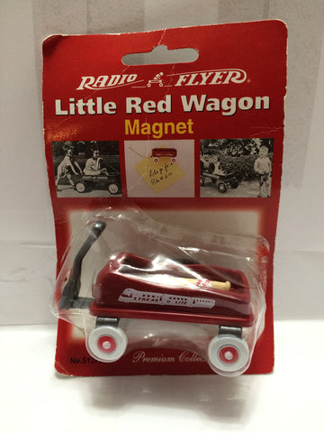 (TAS013405) - Radio Flyer Little Red Wagon Magnet, , Magnet, Radio Flyer, The Angry Spider Vintage Toys & Collectibles Store  - 1