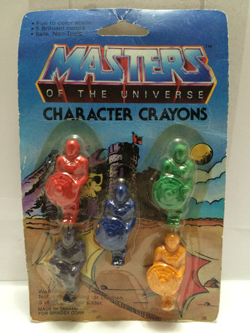 (TAS013407) - MOTU - Masters of the Universe Character Crayons, , crayons, MOTU, The Angry Spider Vintage Toys & Collectibles Store  - 1