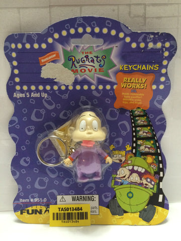 (TAS013484) - 1998 The Rugrats Movie Keychains - Dil, , Key Chain, Basic Fun, The Angry Spider Vintage Toys & Collectibles Store  - 1