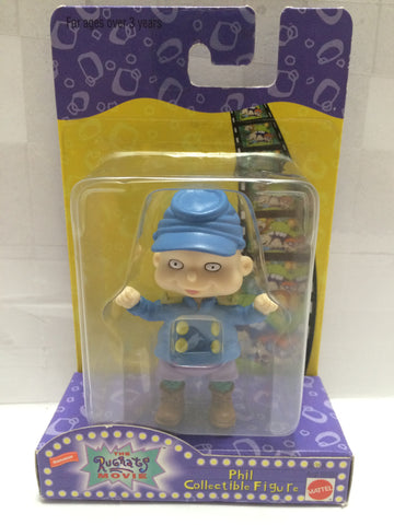 (TAS013490) - 1998 Mattel The Rugrats Movie - Phil Collectible Figure, , Action Figure, Mattel, The Angry Spider Vintage Toys & Collectibles Store  - 1