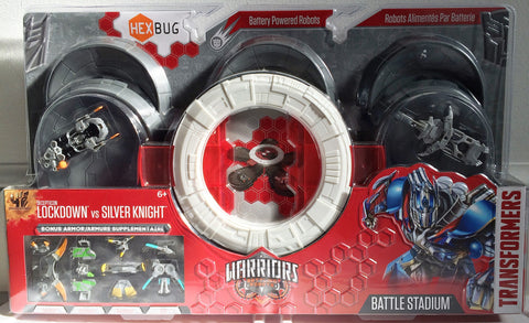 (TAS013687) - 2014 Hasbro Transformers Lockdown vs. Silver Night Battle Stadium, , Action Figure, Transformers, The Angry Spider Vintage Toys & Collectibles Store  - 1