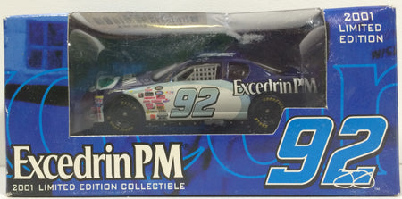 TAS037984 - 2001 Racing Champions Die-Cast Excedrin PM Jimmie Johnson #92