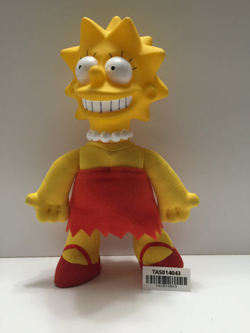 "(TAS014043) - The Simpsons ""Lisa"" fabric doll, , Dolls, The Simpsons, The Angry Spider Vintage Toys & Collectibles Store  - 1"