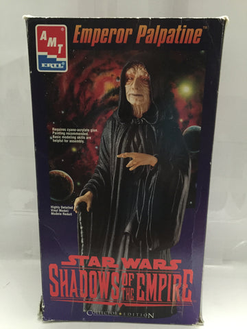 "(TAS014057) - Ertl Star Wars Shadows of the Empire Vinyl Model ""Emperor Palpatin, , Model, Ertl, The Angry Spider Vintage Toys & Collectibles Store  - 1"