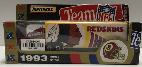 "(TAS014061) - Matchbox Team NFL ""Washington Redskins"" 1993 Tractor-Trailer (4th, , Trucks & Cars, Matchbox, The Angry Spider Vintage Toys & Collectibles Store  - 1"