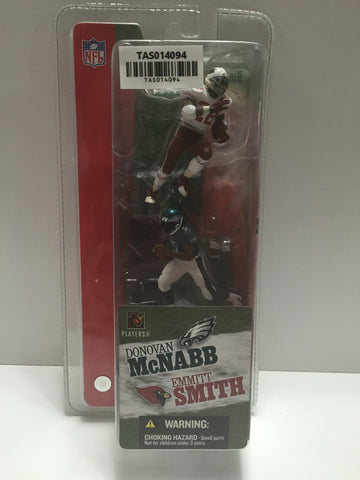 (TAS014094) - 2004 McFarlane Toys NFL Duo - Donovan McNabb & Emmit Smith, , Action Figure, McFarlane, The Angry Spider Vintage Toys & Collectibles Store  - 1